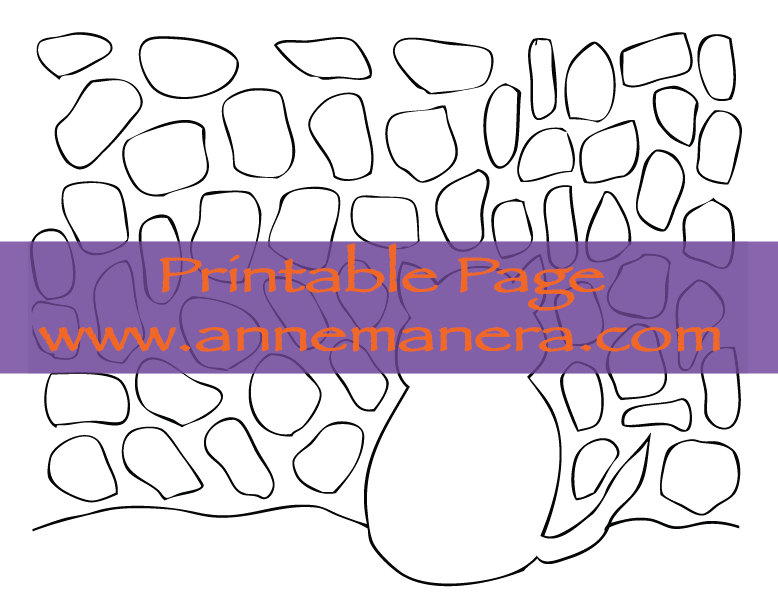 Mosaic Coloring Pages Pdf : Printable kitty cats mosaic coloring page by anne manera